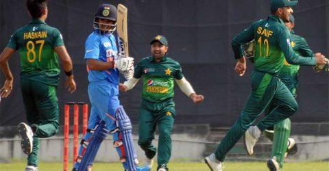 ভারতকে ৩ রানে হারিয়ে ফাইনালে পাকিস্তান