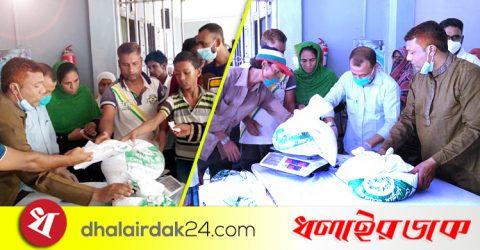 কমলগঞ্জ পৌরসভায় প্রধানমন্ত্রীর উপহার পেলো ৩৪০পরিবার