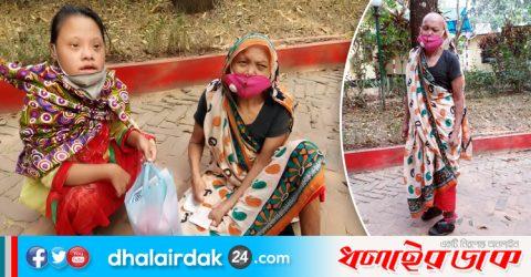 কমলগঞ্জে ভাতা বঞ্চিত প্রতিবন্ধী বৃদ্ধা মা ও মেয়ের কষ্টার্জিত জীবন যাপন