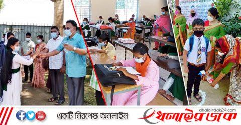 কমলগঞ্জে শিক্ষার্থীদের পদচারণায় মূখর শিক্ষাপ্রতিষ্ঠান সমুহ