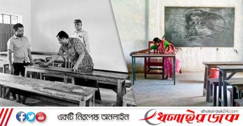 কমলগঞ্জে শিক্ষা প্রতিষ্ঠানে চলছে অগ্রিম প্রস্তুতি